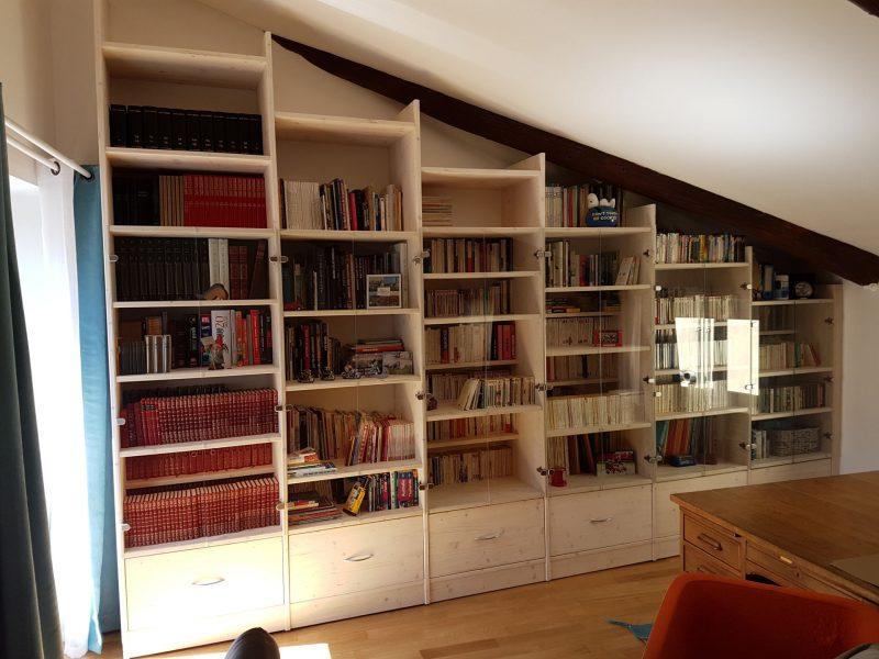 Réalisation bibliothèque