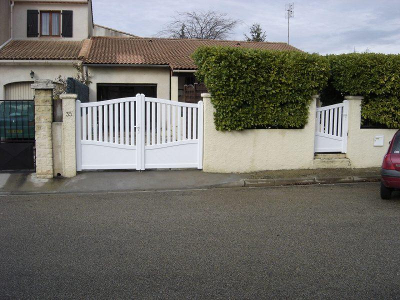 Portail clôture Bagnols-sur-Cèze