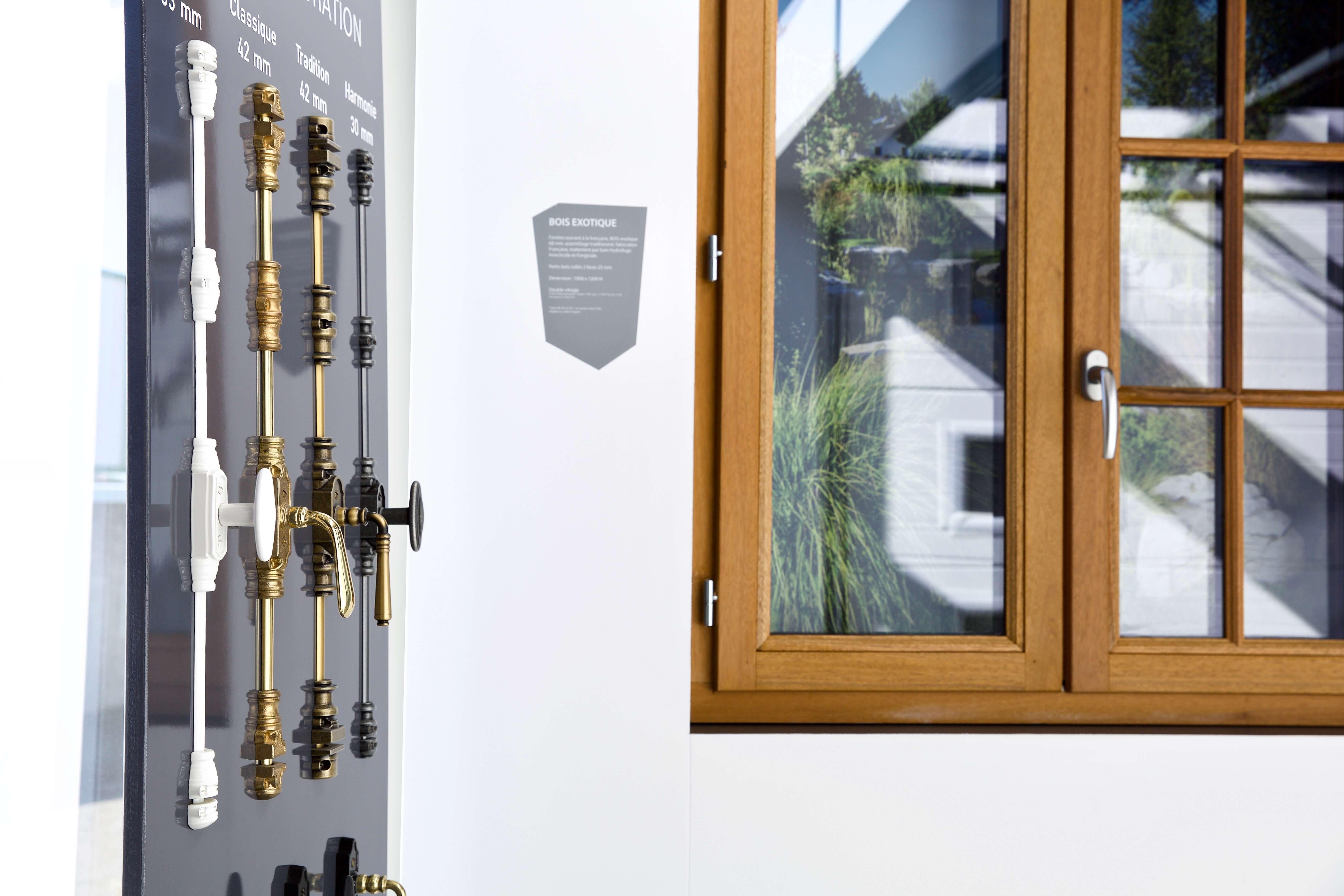 Fenêtre bois Triola